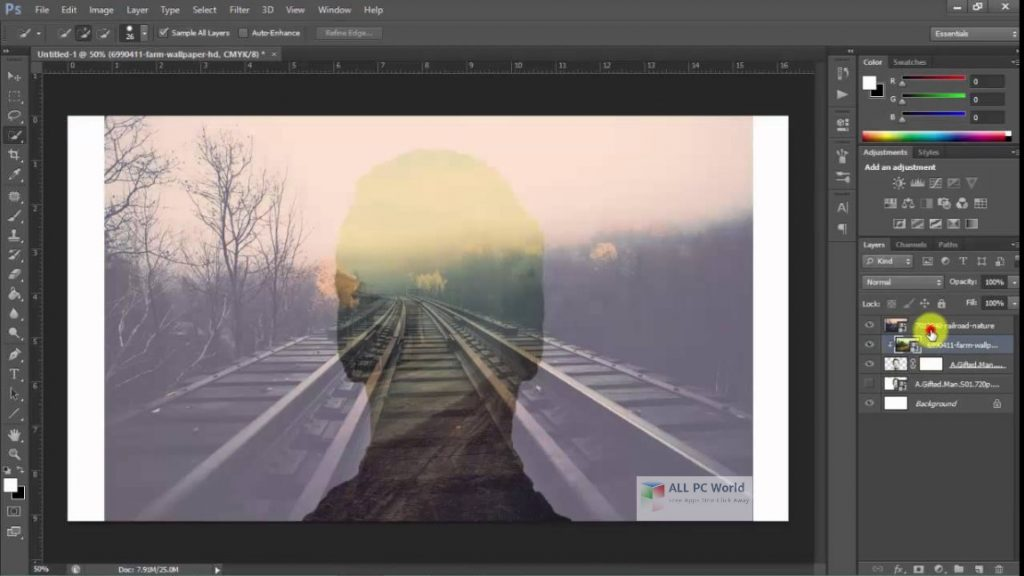 Adobe Photoshop CC Crack 2018 Free Download