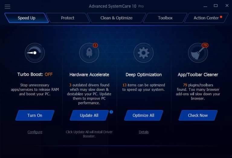 Advanced SystemCare 11 Pro Key