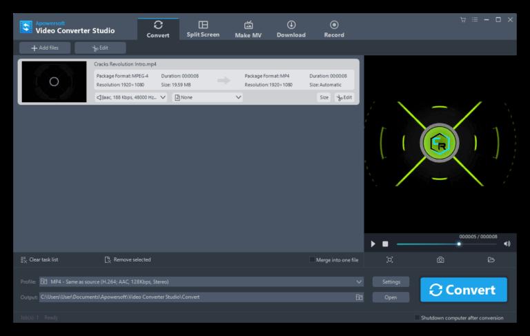 Apowersoft Video Converter Studio License Code