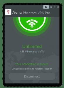 Avira Phantom VPN Pro 2.15 Crack