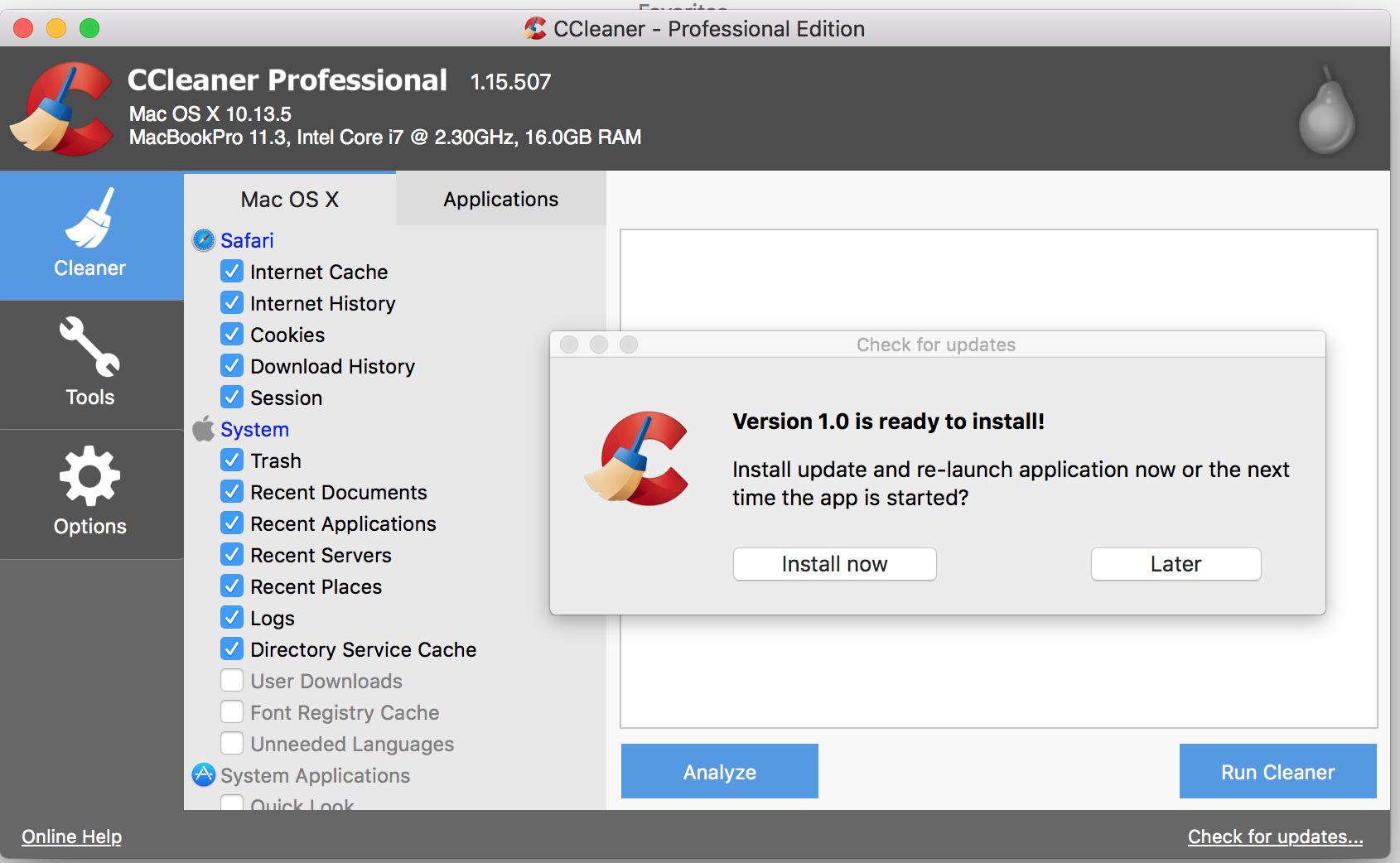 CCleaner Pro 5.50.691 Crack & Keygen