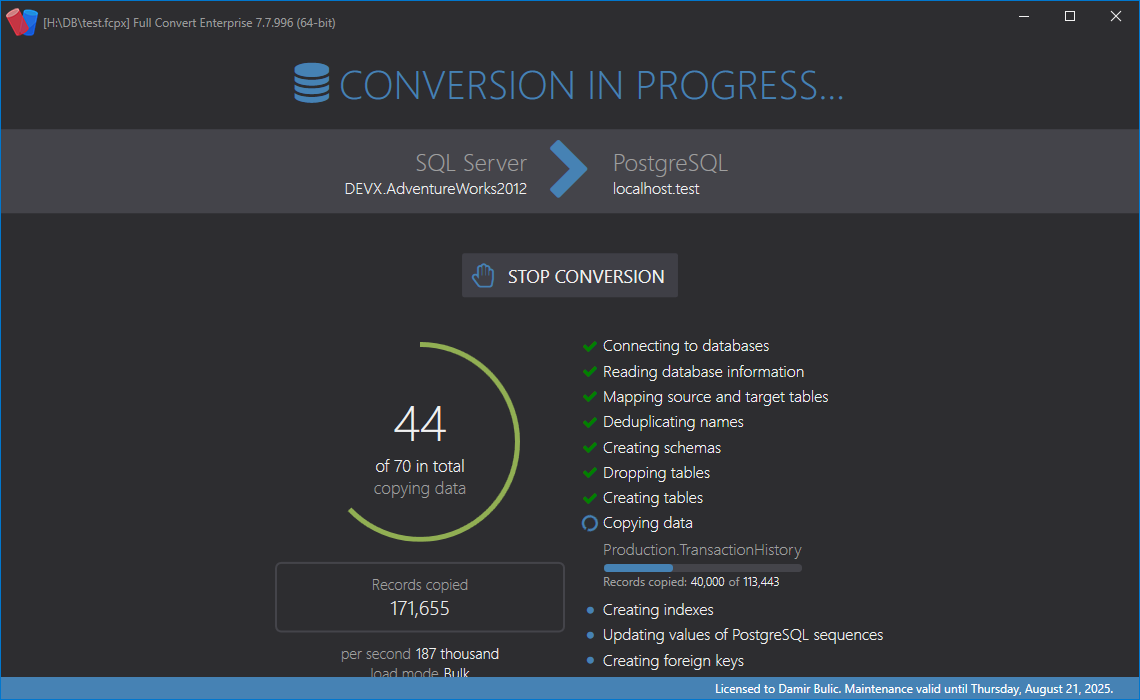 Full Convert Enterprise Activation Code