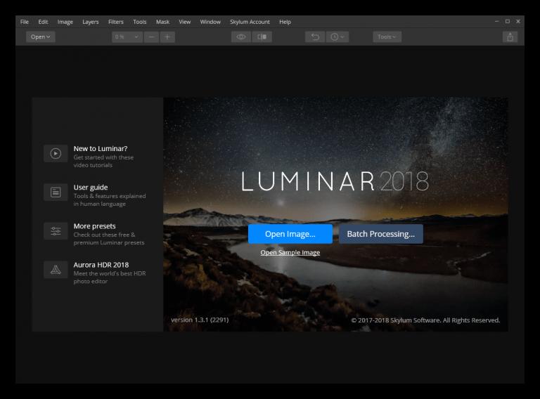 Luminar 2018 Activation Key