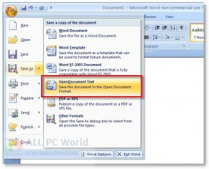 Microsoft Office 2007 Full Version Crack Free Download