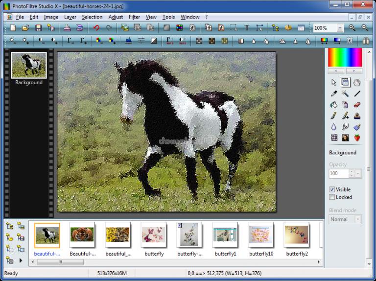 PhotoFiltre Studio X Keygen