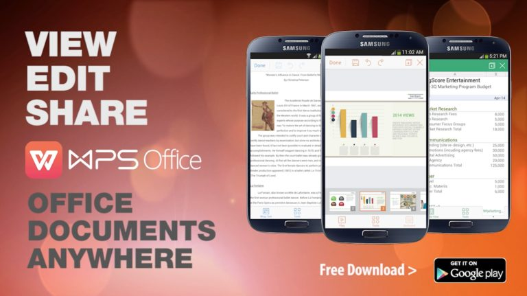 WPS Office Cracked APk