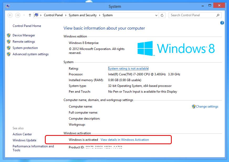 Windows 8 Activator 32 64 bit Latest Version Download