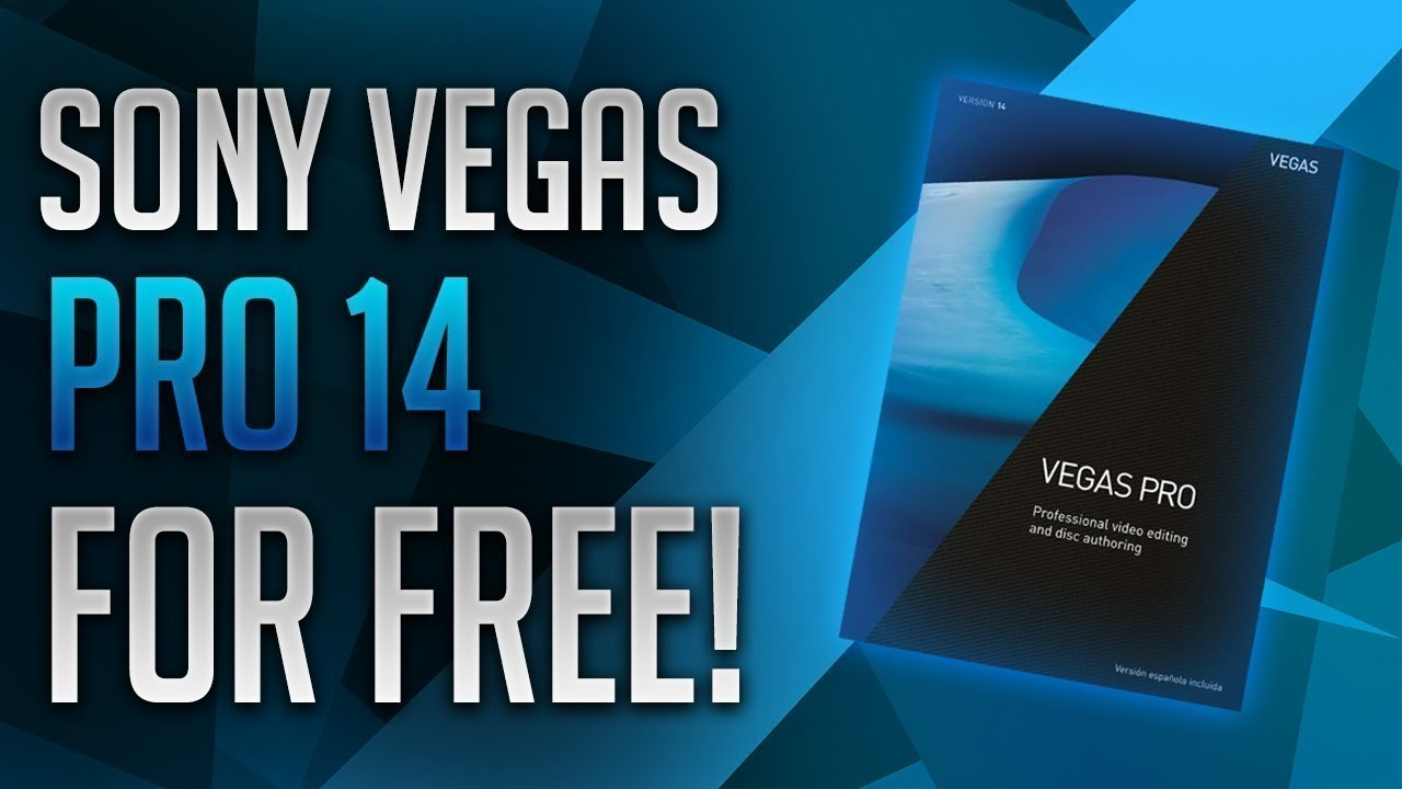 Sony Vegas Pro 14 Crack For Free Download