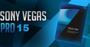 Sony Vegas Pro 15 Crack Full Download