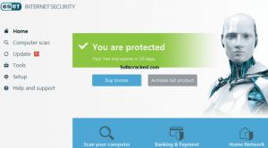 ESET Internet Security 2019 Crack v12.0.31.0 + License Key [Latest] Free