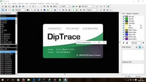 DipTrace 3.3.1.1 Crack + Registration Key Download Latest Version