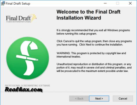 Final Draft 11.0.2 Crack With Customer Number Generator