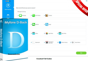 iMyFone D-Back 7.1.0.3 Latest Version Crack And Registration Code Free